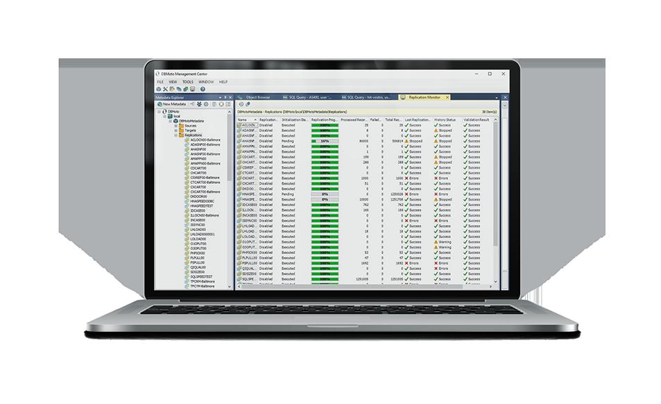 DBMoto para Oracle
