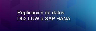 Replica Db2 LUW a SAP HANA