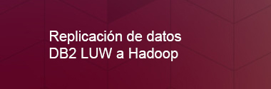 Replica Db2 LUW a Hadoop