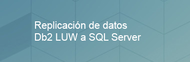 Replica Db2 LUW a SQL Server