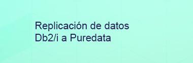 Replicación de datos IBM DB2/i a Puredata