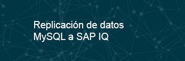 Replica MySQL a SAP IQ