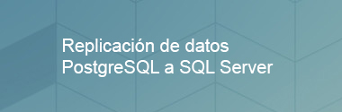 Replica PostgreSQL a SQL Server