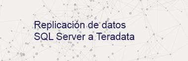 Replica SQL Server a Teradata