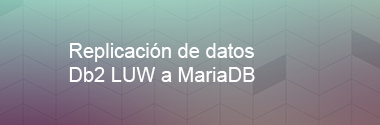 Replica Db2 LUW a mariaDB
